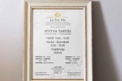 LaForMe kozmetika - nyitva tartás