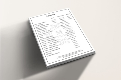 M Design Hajstúdió - árjegyzék
