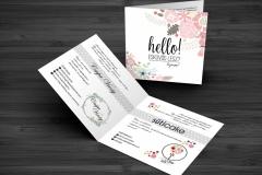 Reklám kártya - Csupa Virág